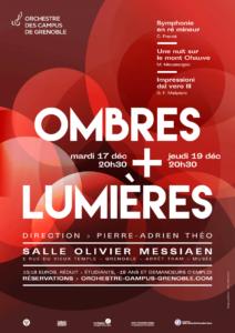 Affiche Concert Ombres et Lumières